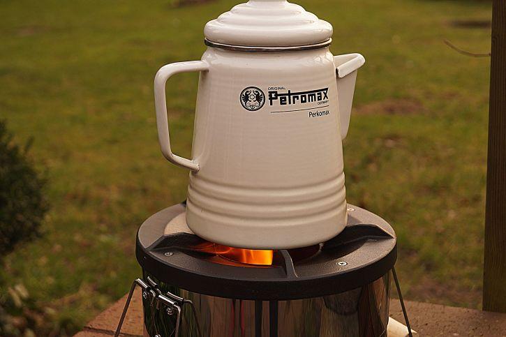 Petromax Rocket Stove Kaffee